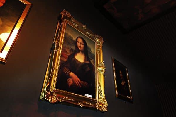 da Vinci szabaduloszoba Monsa Lisa